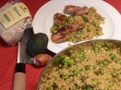 Quinoa-Risotto-Quinsotto-mit-Erbsen-und-Avocado
