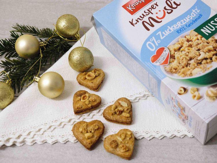 Knusperli-Nuss-Mürbteig-Weihnachtskekse