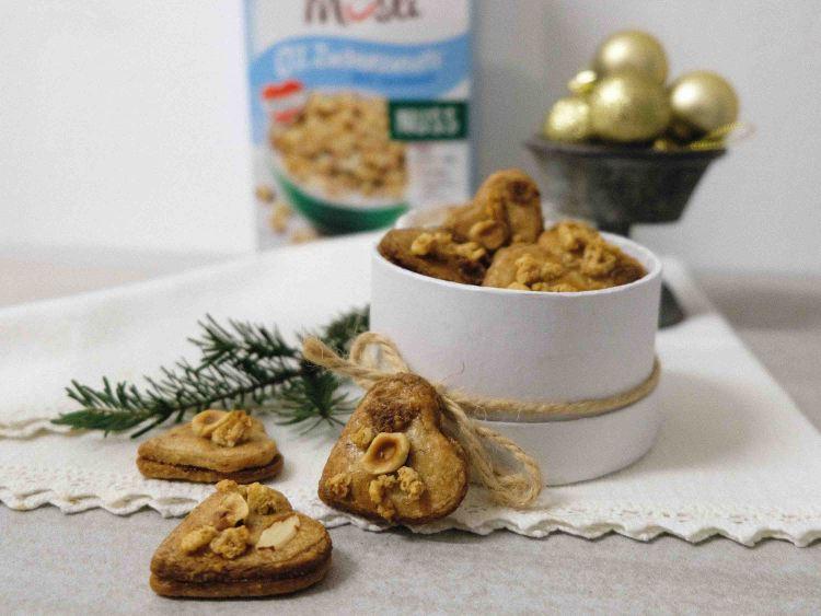 Knusperli-Nuss-Mürbteig-Kekse