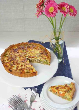 Quiche-Rezept-vegetarisch-mit-Linsen