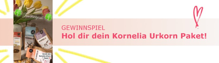 Kornelia Urkorn Raupe Gewinnspiel Banner